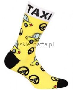 "Skarpety Wola casual "" TAXI"""